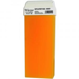 100ml roll on, roller wax cartridge Honey.
