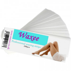 Pre-cutted Polymer wax strips- pack of 100pcs
