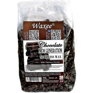 NEW GENERATION stripless wax film wax Chocolate 500g.