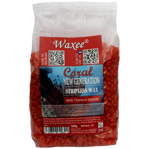 NEW GENERATION stripless wax film wax Coral 500g.