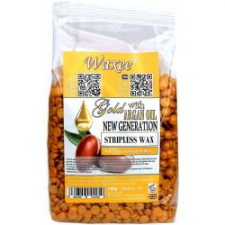 NEW GENERATION stripless wax film wax Gold with Argan oil 500g.