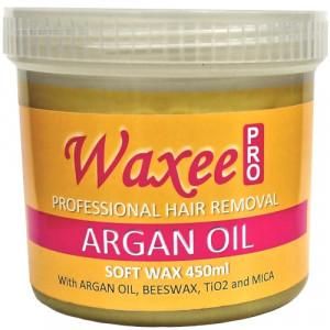 TOP FORMULA Argan oil soft wax 450ml plastic pot