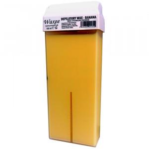 100ml roll on, roller wax cartridge Banana.