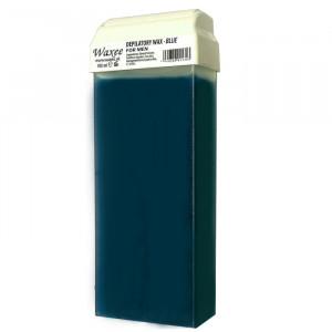 100ml roll on, roller wax cartridge Blue for Men