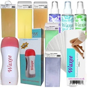 Complete professional 100ml roller, roll on waxing starter kit