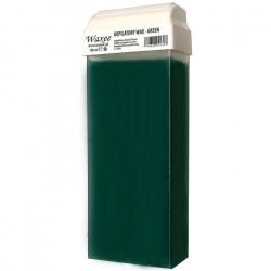 100ml roll on, roller wax cartridge Green.