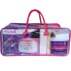 Complete MOBILE waxing kit STARTER soft wax 450ml pot & 500g film wax