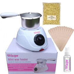 Mini waxing kit  with Film wax (no strips formula )