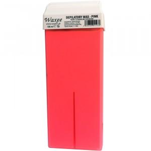 100ml roll on, roller wax cartridge Pink