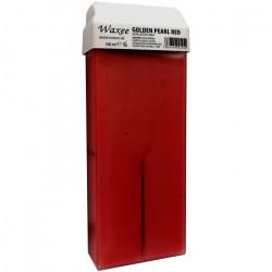 100ml roll on, roller wax cartridge Golden Pearl Red