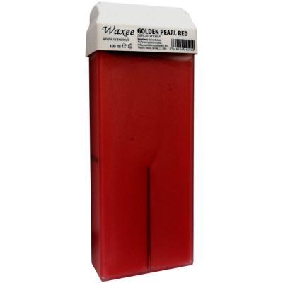 Golden Pearl Red 100ml roll-on, roller wax cartridge Waxee