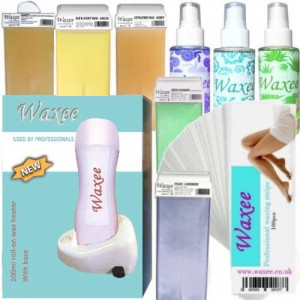 Single base complete professional 100ml roller, roll on waxing starter kit